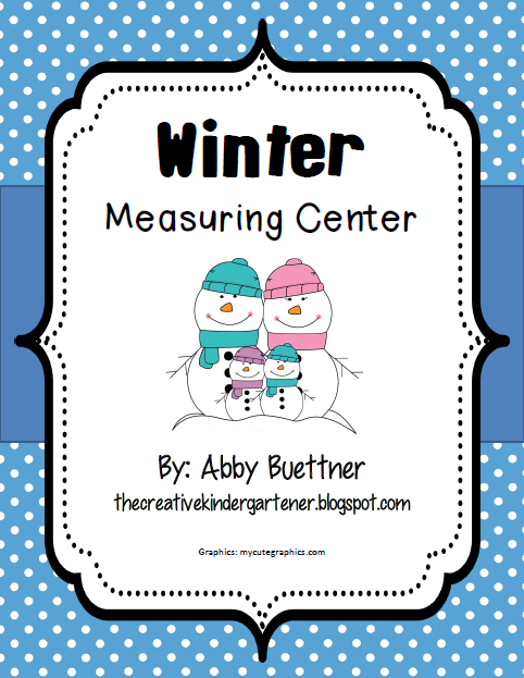 http://www.teacherspayteachers.com/Product/Winter-Measuring-Center-1080131