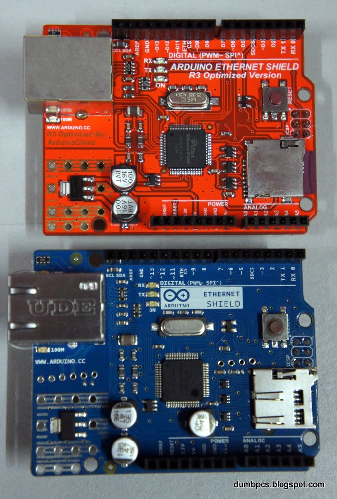 Spot the difference original arduino vs fakes
