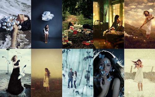 Imágenes creativas de mujeres bonitas by Rosie Hardy