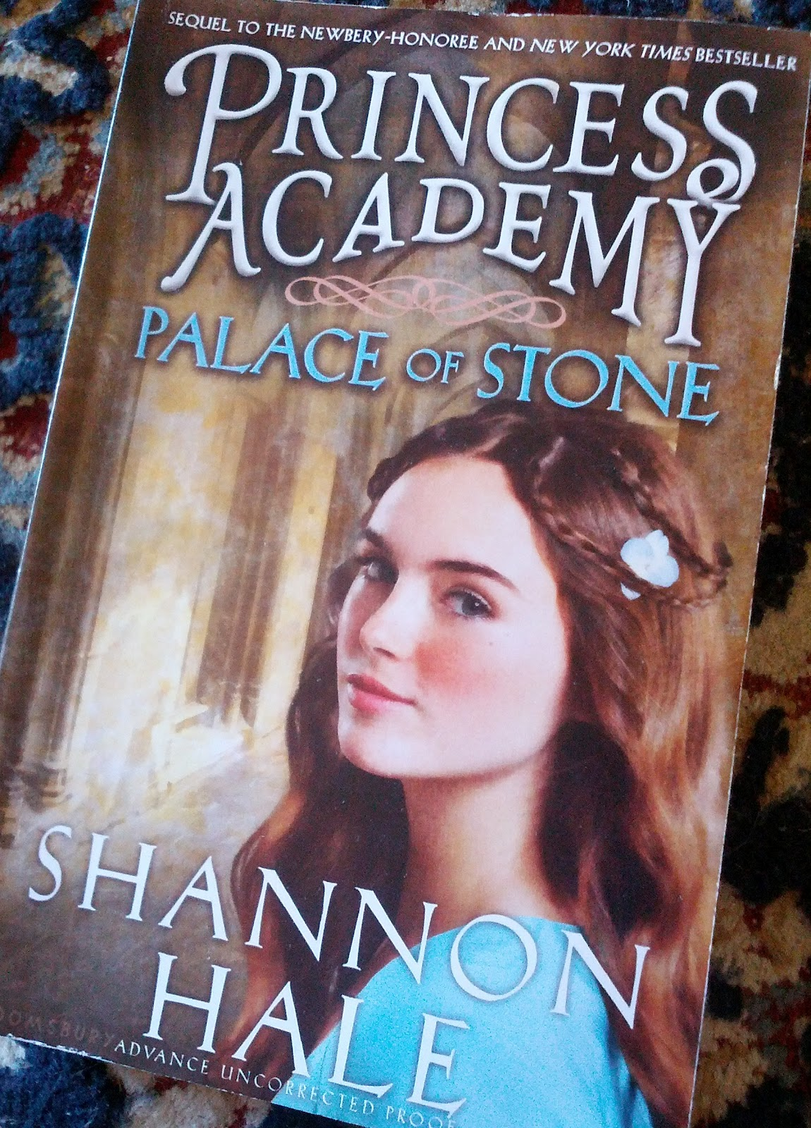 The Second Book I Stepped Into Princess Academy: Palace Of Stone By Shannon  Hale