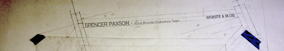 Spencer Paxson, Kona Bicycles Team Rider
