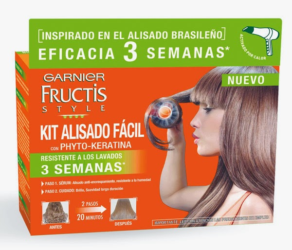 garnier kit alisado facil