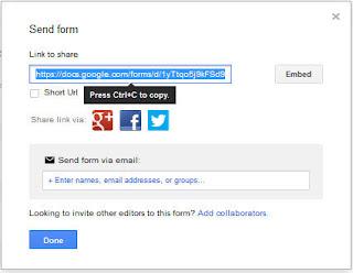 panduan membuat formulir online dengan google form
