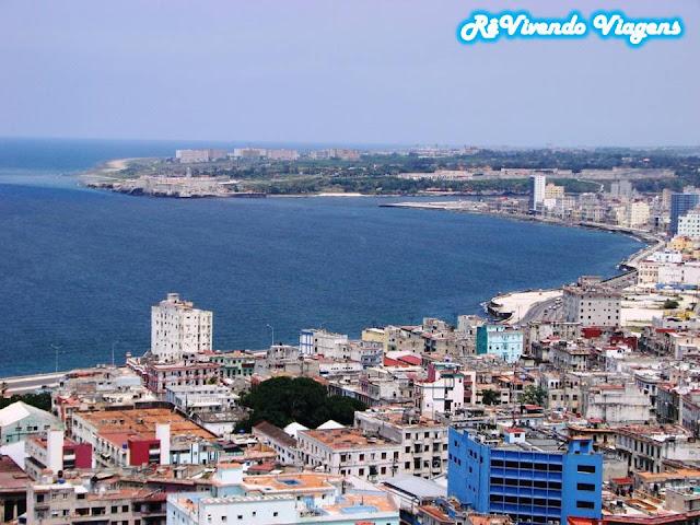Vista do hotel Habana Libre