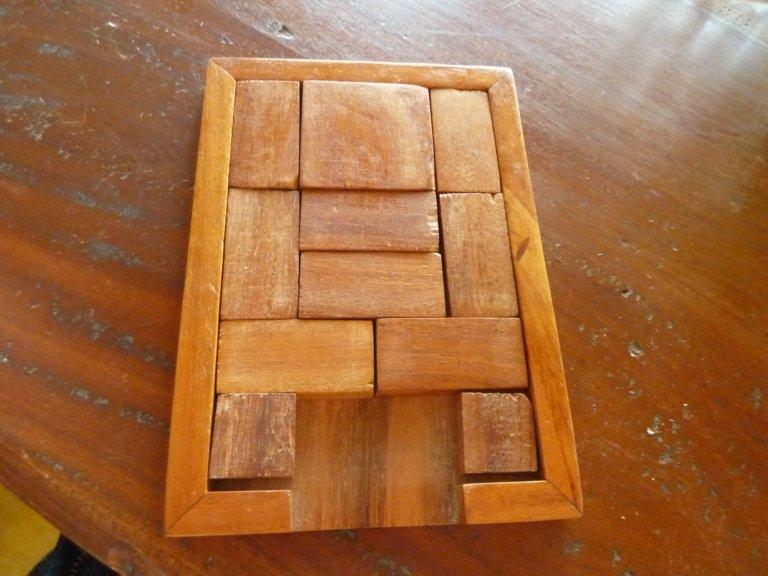 casse tete en bois 6 pieces solution # Solution Casse Tete En Bois