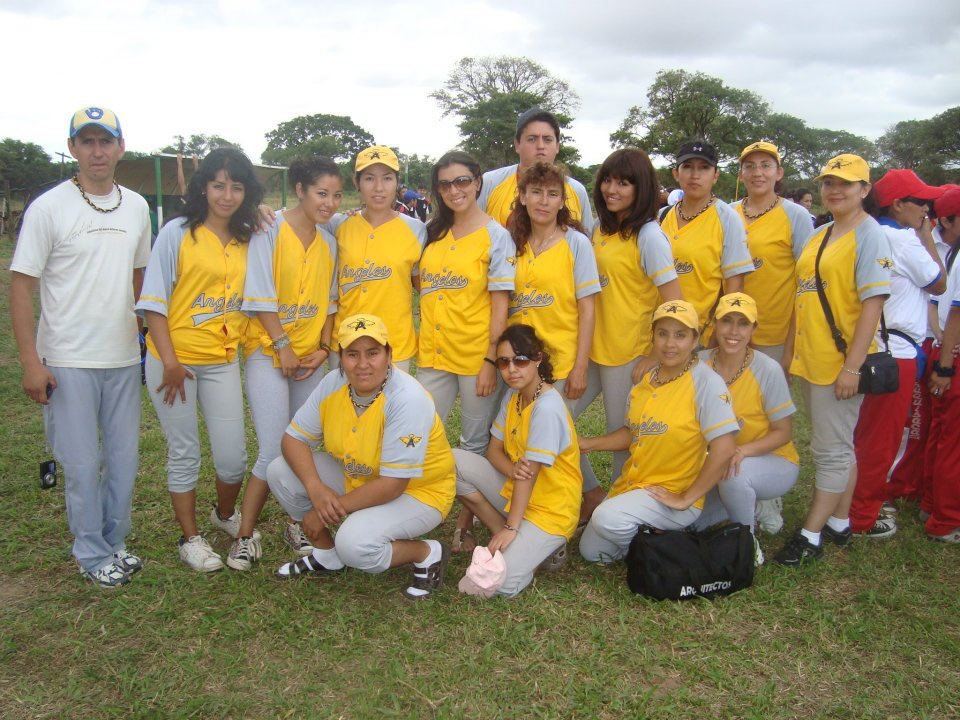 Angeles Campeonas Softbol