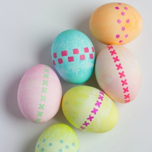 Featured Project: Stenciled Eggs