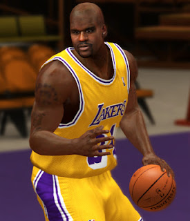 NBA 2K13 Shaquille O'Neal Cyberface Patch