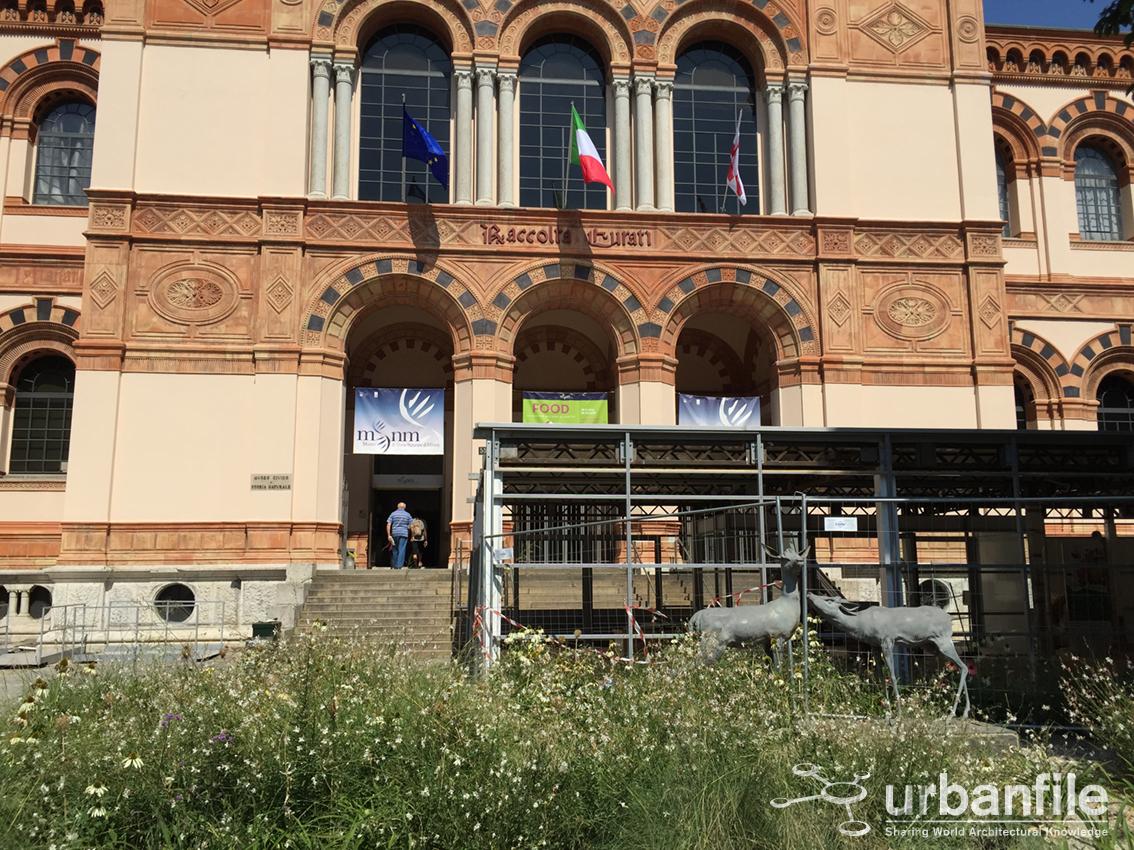 Urbanfile milano zona porta venezia smontato l - British institute milano porta venezia ...