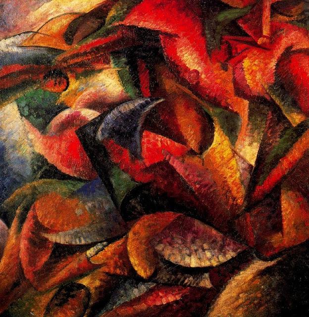 Umberto Boccioni,futurism,5 stars