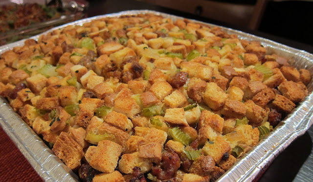 Sage and Sausage Stuffing (but really it's called a dressing since it ...