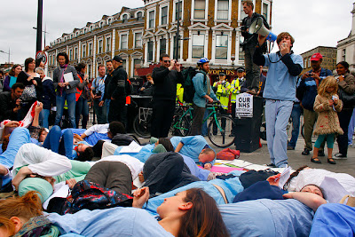 Save United Kingdom Health Care, Block the Bridge, Block the Bill The government is just weeks away from destroying the NHS forever. This is an emergency, join UK Uncut on Westminster Bridge and help block the bill, Anti Banks protest