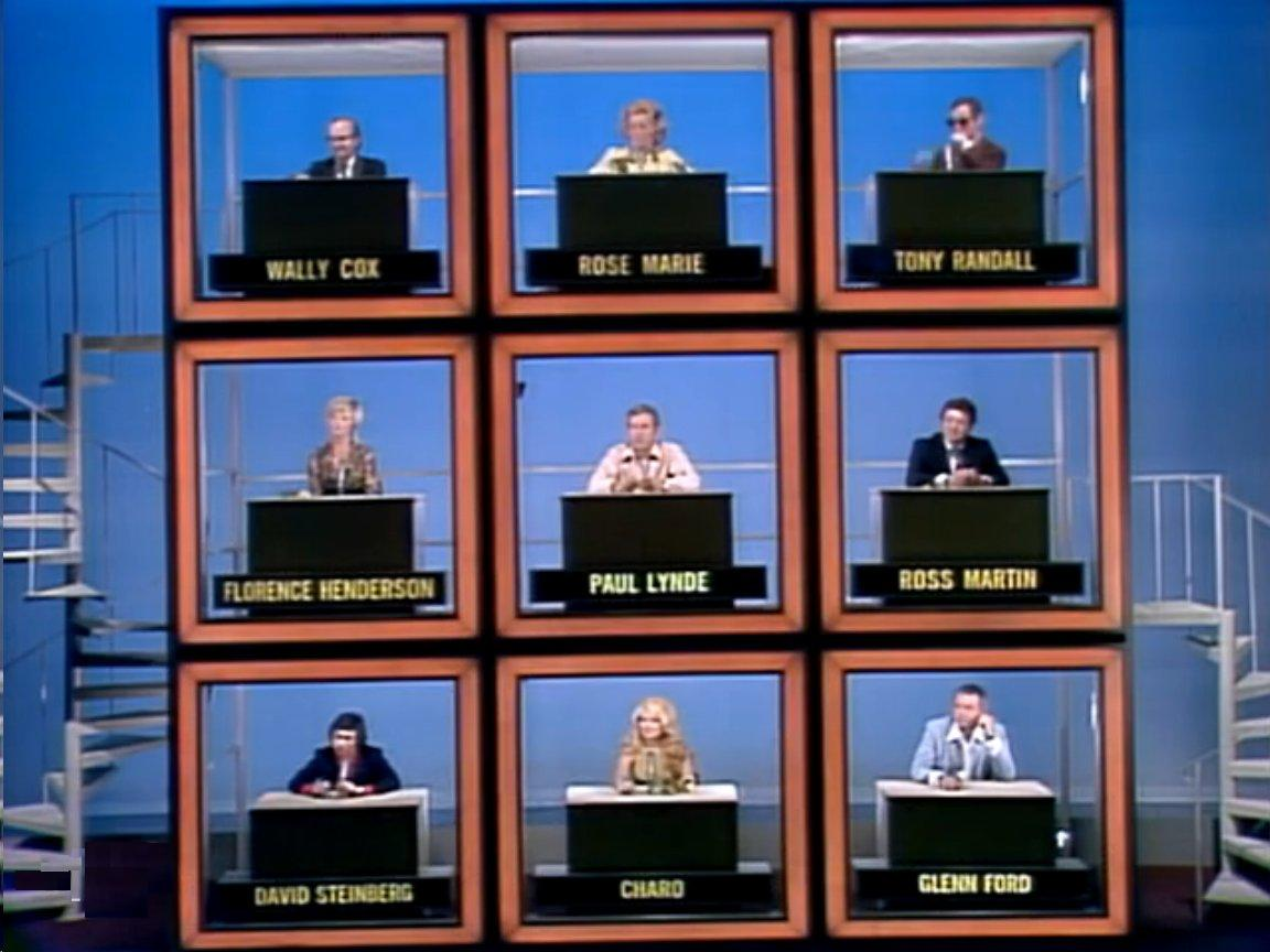 """the brady bunch blog: """"the hollywood squares"""" florence henderson, Powerpoint templates"""