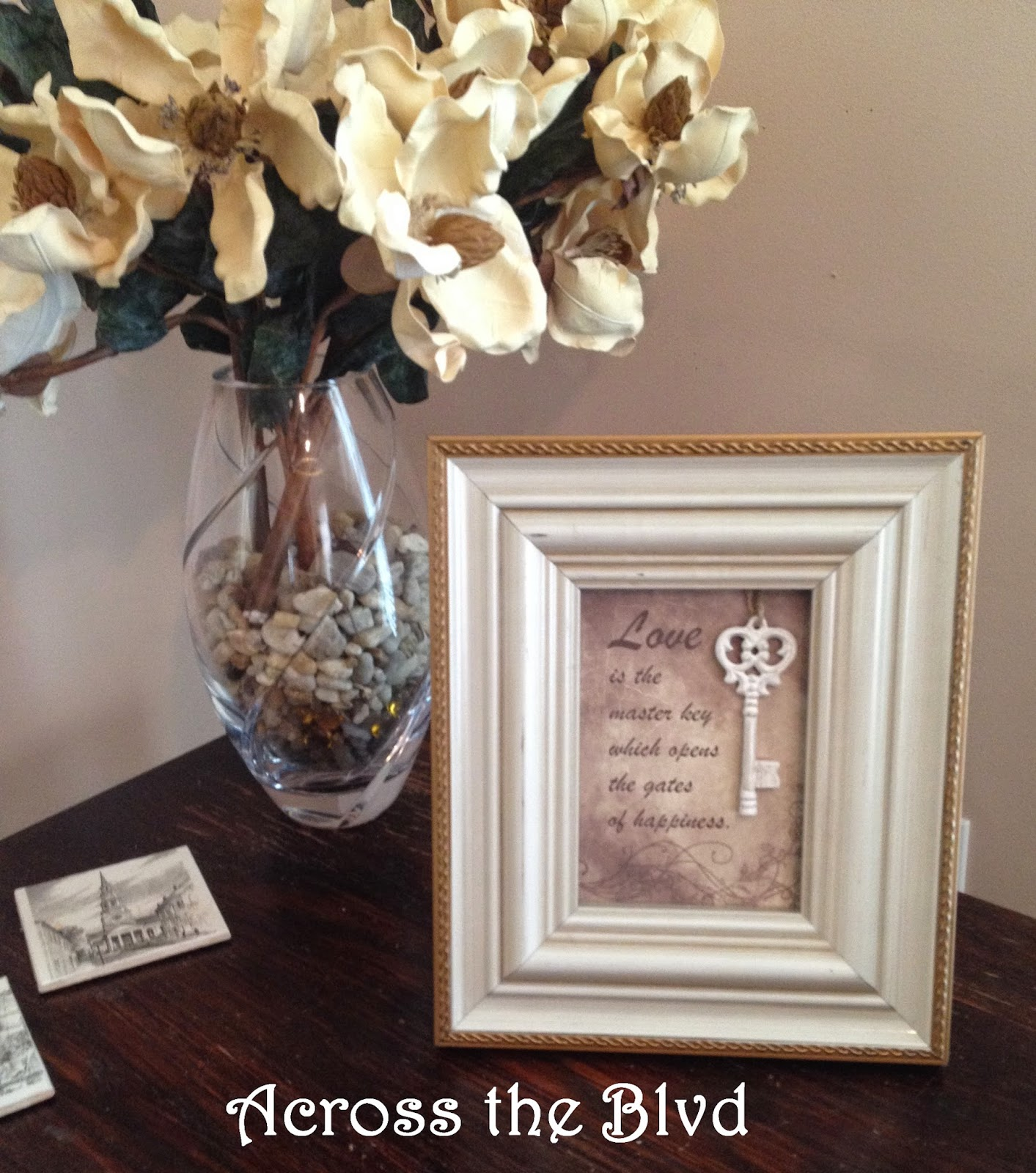table top frame decor