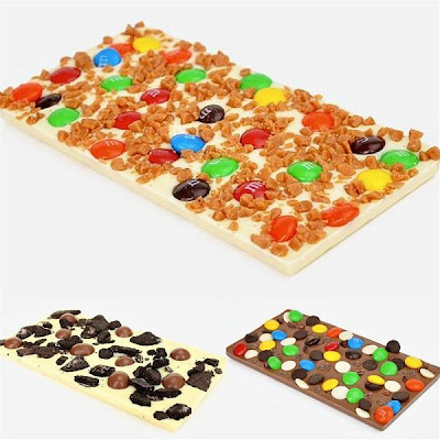 Meu Choco: Imagens ilustrativas de Barras de Chocolate customizadas