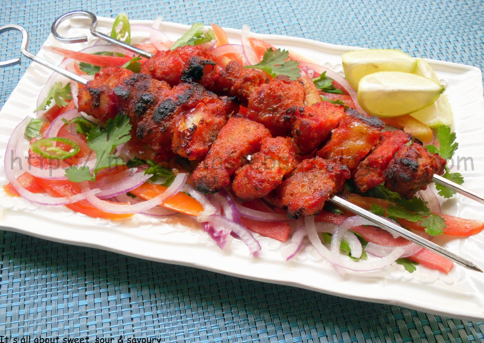 Spicy Fish Tikka