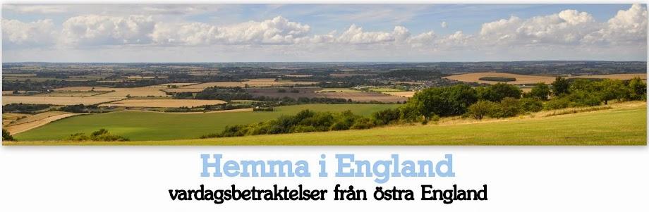 Hemma i England
