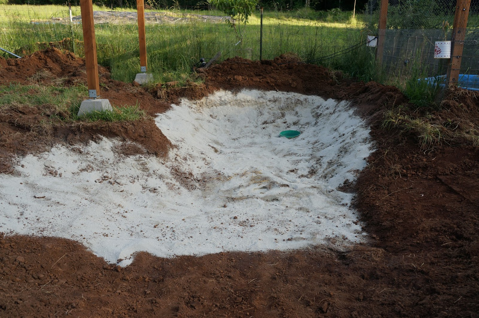 how to build a fish pond with a liner