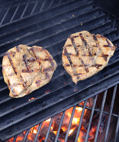 Kamado jerk chicken, Grill Dome jerk chicken, BGE jerk chicken