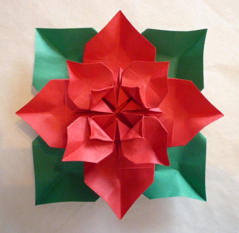 F Ziegler Origami à Nancy Et Autres Billevesées Poinsettia De