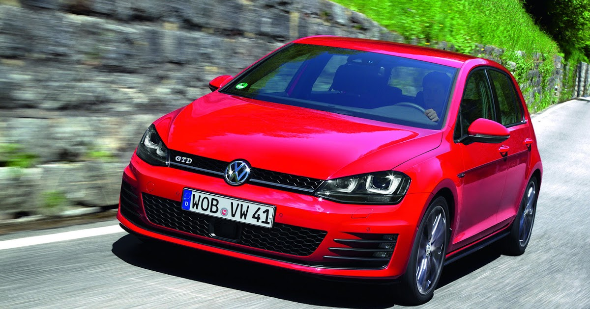 the new volkswagen golf gtd. Black Bedroom Furniture Sets. Home Design Ideas