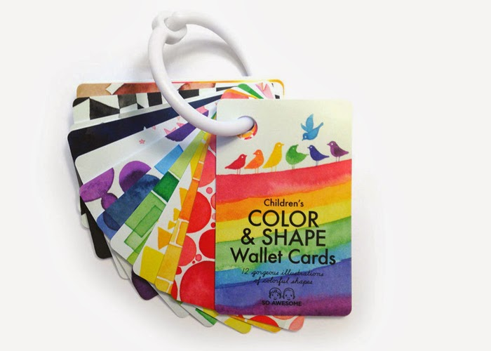 Wallet cards - So Awesome // Sunday in color blog