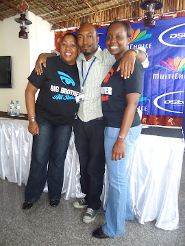 FURAHA SAMALU-MARKETING MANAGER,MULTICHOICE TANZANIA.SEIF KABELELE AND BABRA KAMBOGI-PR