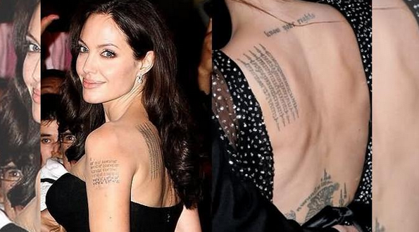Inilah 10 Artis Hollywood Yang memiliki Tato Paling Indah