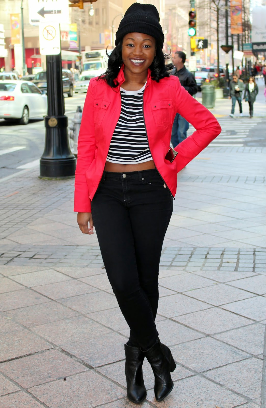 Stripes and Red | Ashley Udoh