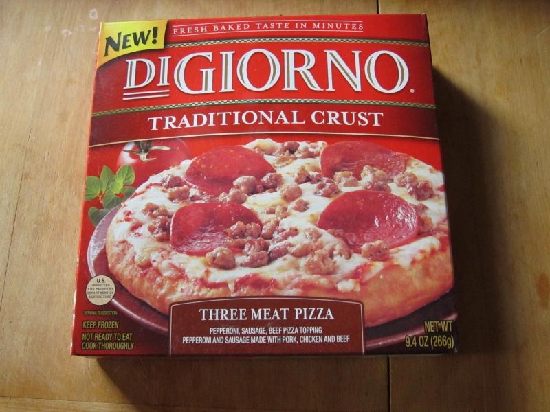 Digiorno Frozen Pizza frozen friday: digiorno - traditional crust three meat pizza