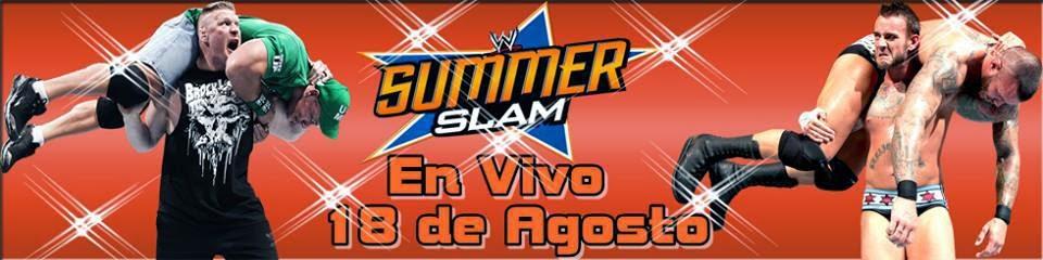 WWE SummerSlam En Vivo Online Gratis En HD 18 de Agosto 2013