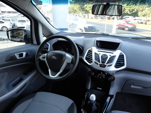 EcoSport FreeStyle 2013 - interior