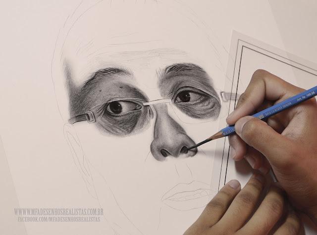 Maurício Fortunato Araújo - (Desenho Real