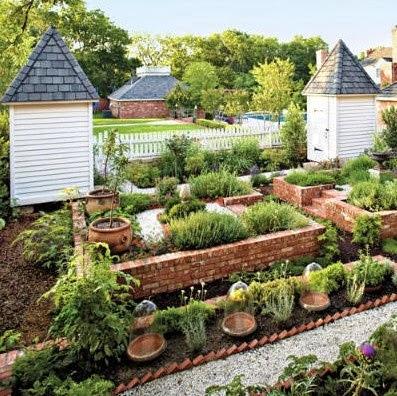 Willow bee inspired garden design no 18 the potager for Kitchen garden layout