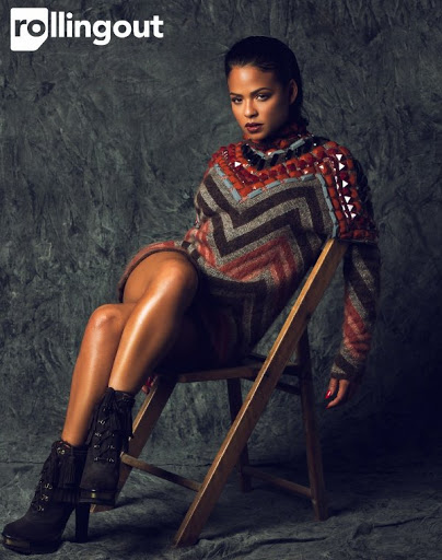 Christina Milian Rolling Out Photoshoot