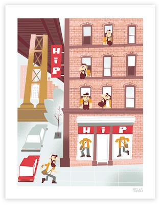 Alex Formika, Hipsters Manhattan Bridge, Brooklyn