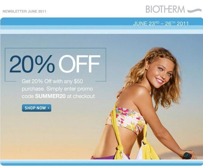 biotherm sale in Greece
