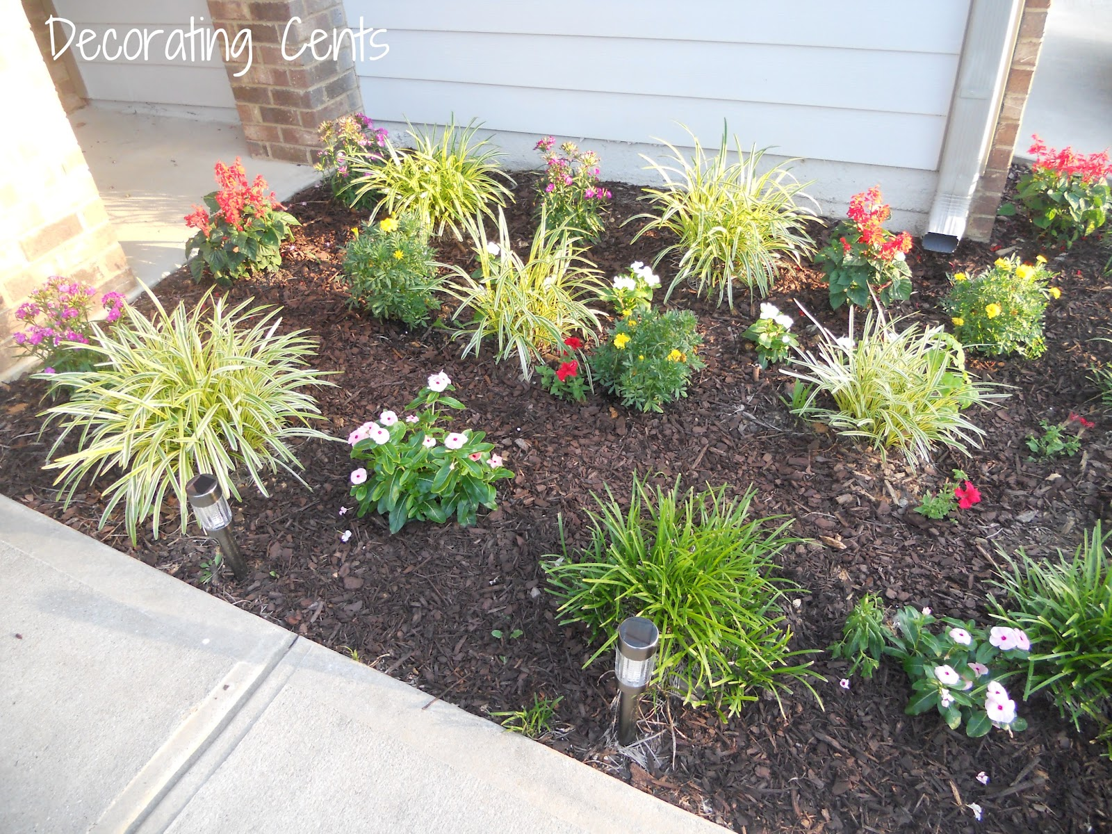 Decorating Cents Curb Appeal