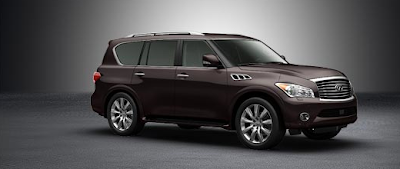 2012 Infiniti QX56 dark currant