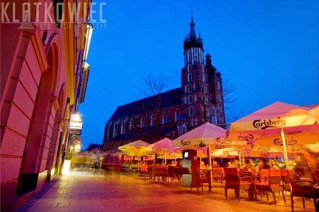 Na rynku w Krakowie