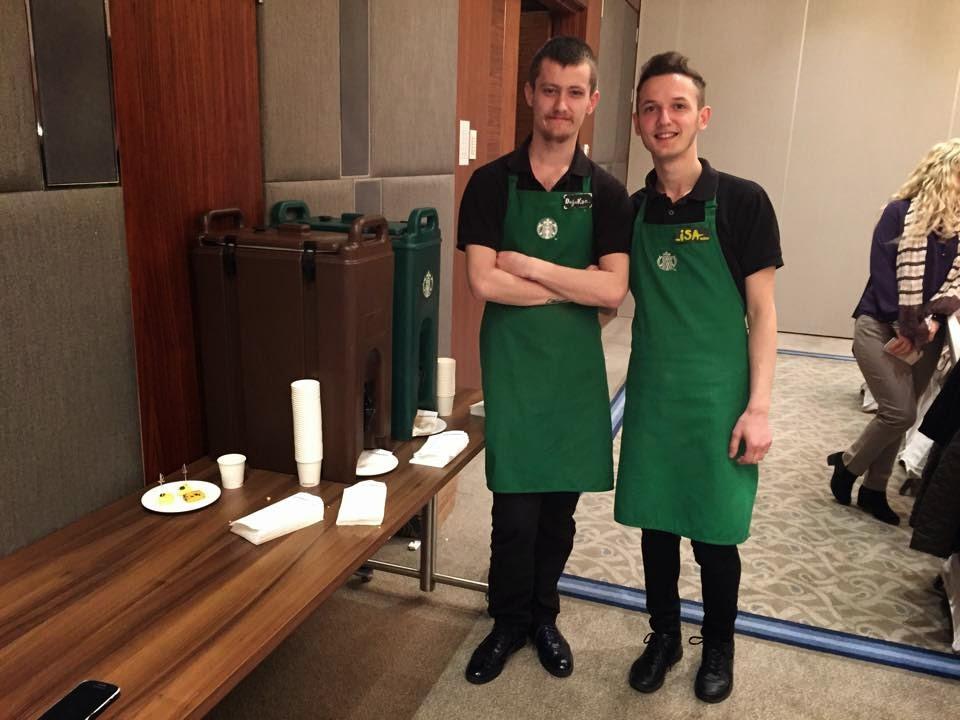 sponsor starbucks Bursa Hilton Bursa'lı Bloggerlar karamelli kahve