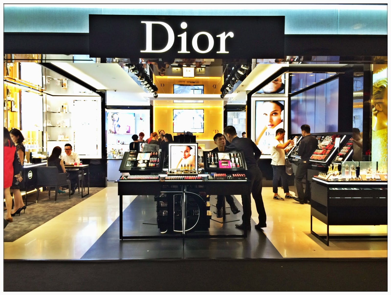 Opening of dior beauty boutique midvalley megamall for 76 salon mid valley
