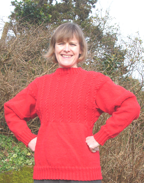 Julias KnitWits Blog: 5-Ply Guernsey Wool (and Cornish ...