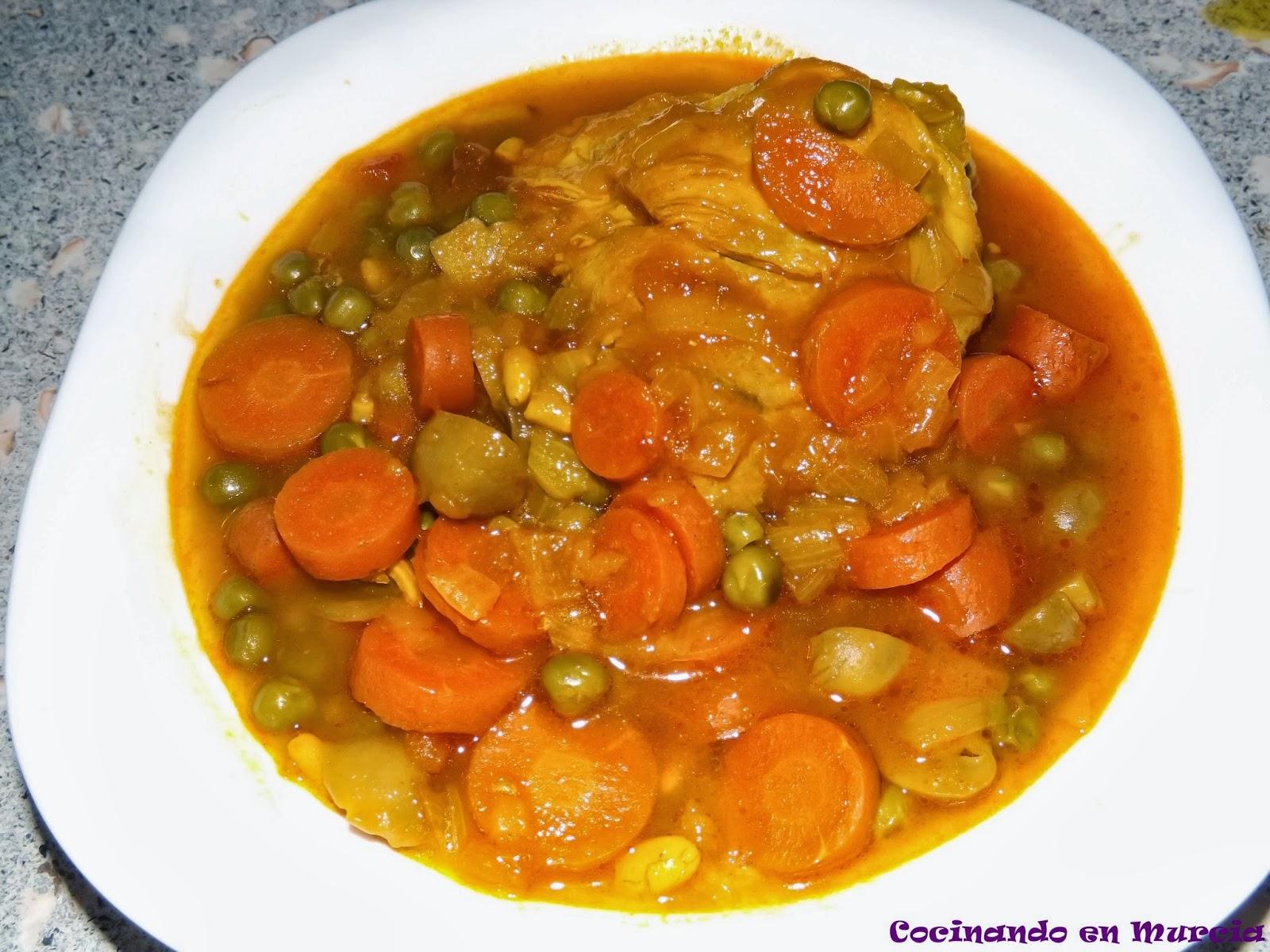 Cocinando en murcia muslos de pollo en salsa for Muslos pollo en salsa