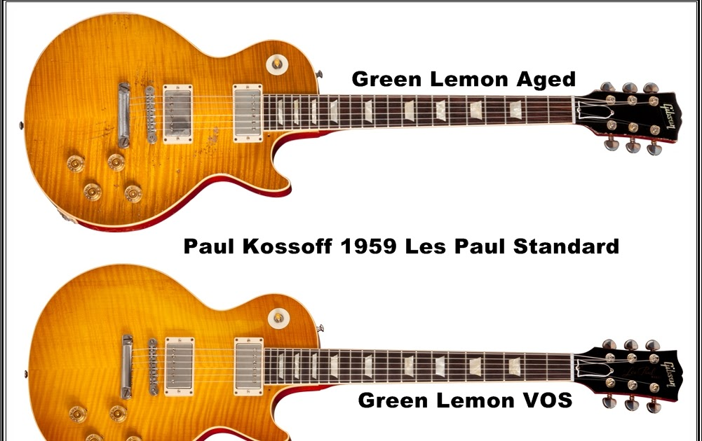 guitars blog  gibson paul kossoff 1959 les paul standard