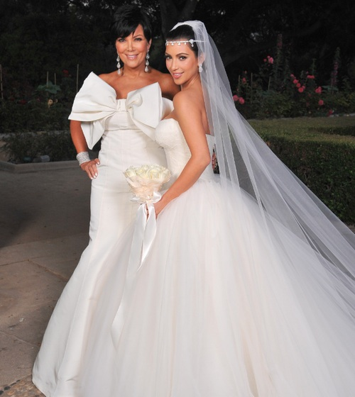 Kim Kardashian Wedding Gown: Kim Kardashian Wedding Dresses By Vera Wang