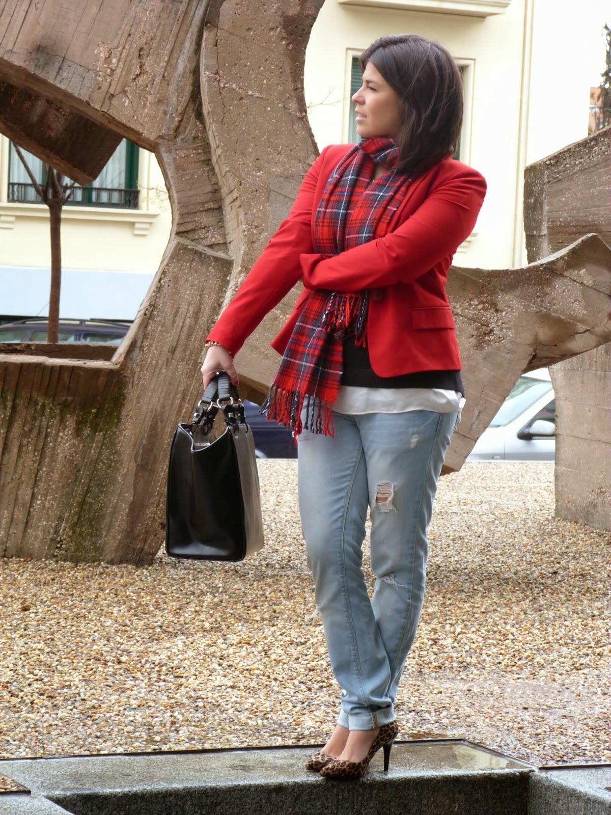 blazer roja 2