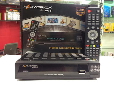 AZAMERICA S1005 HD CHEGA NA PREMIUM INTERNACIONAL – 22/11/2013