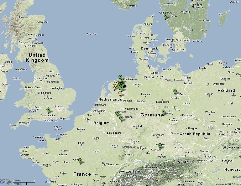 lofar uk Current Map of International LOFAR Telescope