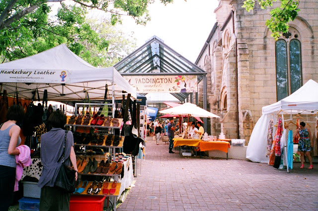 Paddington Markets Oxford St Sydney
